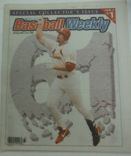 Baseball Weekly Magazine Special Collector's Issue Mark McGwire 1998 060415R