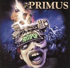 PRIMUS - Antipop CD tom morello james hetfield jim martin tom waits les claypool
