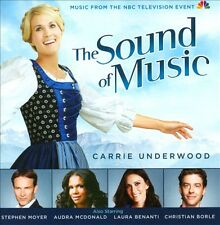 The Sound of Music [2013 NBC Television Cast] (CD, Dec-2013 CARRIE UNDERWOOD NEW