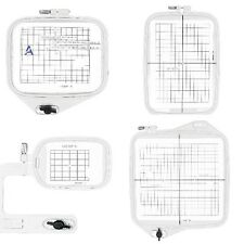 Sew Tech 4 in1 Embroidery Hoop for Janome 350E 9500 9700 10000 10001 and More