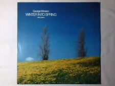 GEORGE WINSTON Winter into spring lp GERMANY WINDHAM HILL