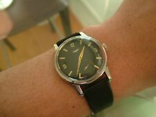 1950's LONGINES Men's Big Movement cal 30L Dress Stainless Steel RUNS Great Cond