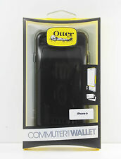 OtterBox Commuter Wallet Hard Case w/ID Card Slot Cover for iPhone 6 & 6s BLACK