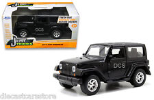 JADA  JUST TRUCKS  2014 JEEP WRANGLER BLACK 1/32 DIECAST CAR 97052