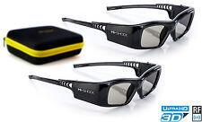 2x 3D Brille Hi-SHOCK® für RF Beamer von Epson EH-TW5300, EH-TW8200, EH-TW9100