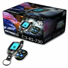 Autopage C3-RS730LCD 2-Way LCD Remote Start Car Alarm System 4 Channel