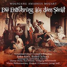 CD l'enlèvement du sérail de wolfgang Amadeus Mozar 2cds rudolf choc