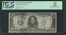 1934 $1000 One Thousand Dollar Bill Currency Cash Note Money PCGS FINE 12