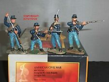 CONTE ACW57165 IRISH BRIGADE FIRING AMERICAN CIVIL WAR TOY SOLDIER FIGURE SET