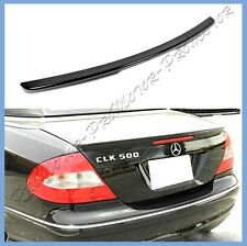 Pick Color 04-08 W209 M-Benz CLK350 CLK500 CLK55 Coupe A Type Trunk Wing Spoiler