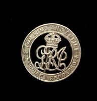 WW1 BRITISH FOR KING AND EMPIRE WOUND BADGE 445872