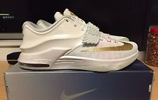 Nike KD 7 Premium Aunt Pearl Men's Size 11.5 BRAND NEW 706858-176