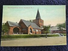 Early 1900's The First Presbyterian Church in Rutherford, NJ New Jersey PC