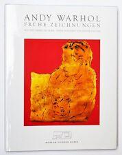 Andy Warhol Frühe Zeichnungen Heiner Bastian Museum Frieder Burda 2007