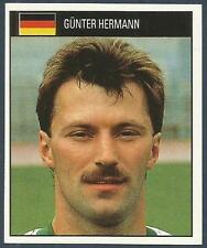 ORBIS 1990 WORLD CUP COLLECTION-#082-GERMANY-GUNTER HERMANN
