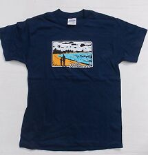 Yellowcard- NEW YOUTH CHILD Beach NAVY T Shirt- Large FREE SHIPPING TO U.S.!
