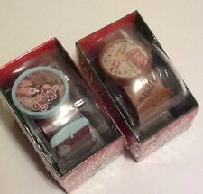 Set of (2) Christmas Story Watches, Ralphie And Leg Lamp New In Sealed Package