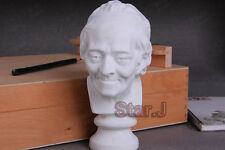 Voltaire Bust Sculpture Statue Resin Sketch Draw Plaster Artist Model Decor 7.5""