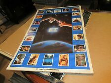 """E.T. Collage Poster , 1982 , 23"""" X 35"""" , Excellent Condition"""