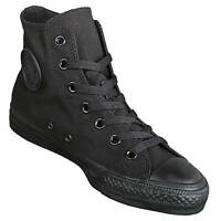 Converse Chucks Hi UNISEX schwarz all black - hohe Chuck Taylor All Stars