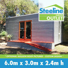 Granny Flat - Customisable Colorbond Kit Shed