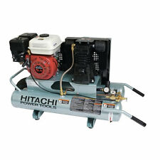 Hitachi 6.5-HP 8-Gallon Gas Wheelbarrow Air Compressor w/ Honda Engine