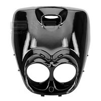 Front fairing Black Front Paneling for MBK Booster Yamaha Bws 50