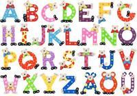 Playshoes HOLZ BUCHSTABE Holzbuchstaben Buchstaben ALPHABET zur Auswahl