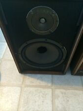 Rare Beautiful Vintage Pair of Wharfedale W25 bookshelf speakers