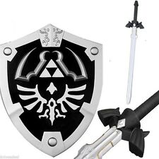 Dark Link Legend Of Zelda Master Sword Shield Combo Deal FOAM Larp Cosplay Set