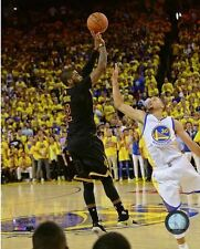 KYRIE IRVING THE SHOT CLEVELAND CAVS 2016 NBA CHAMPIONS  8X10 LICENSED PHOTO