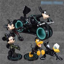 Mickey Mouse Disney Donald Figure Minnie Pluto Goofy Figures Lot Pvc Set New Toy