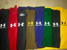 VERY NICE!!  LOT 11 UNDER ARMOUR TIGHT FIT COMPRESSION ATHLETIC SHIRTS MENS M