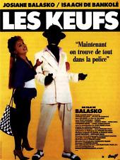 Bande annonce cinéma trailer 35mm 1997 LES KEUFS J Balasko I De Bankolé JP Leaud