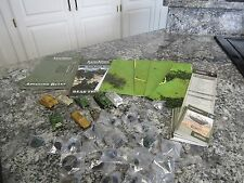 Axis and Allies Miniatures lot of 29 miniatures & Game. Lot of new pieces.