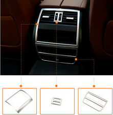3*Rear Armrest Box Air Condition Vent Trim Cover For BMW 5 Series F10 2011-2014