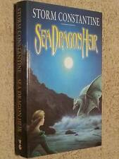 Storm Constantine SIGNED Sea Dragon Heir UKHC 1st Edn