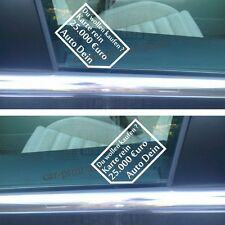 Aufkleber Autoaufkleber DU WOLLEN KAUFEN ? 25000€ im SET DECAL Hater Sticker neu