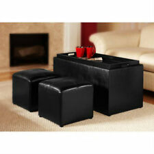 Storage Ottomans And Benches Coffee Table Cushion Bedroom Sitting Seat Entryway