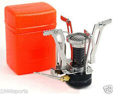 Ultralight Backpacking Gas Butane Propane Canister Outdoor Camp Stove Burner #40