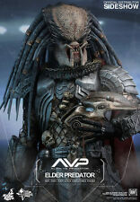 HOT TOYS ELDER PREDATOR ALIEN VS PREDATOR 1/6 SCALE FIGURE MOVIE AVP