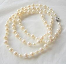 STUNNING LADY FRESH WATER PEARL NECKLACES BY LA-RICHIE JEWELLERY. ROYAL JEWELLER