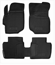 PEUGEOT 301 2012- Rubber Car Floor Mats All Weather Alfombras Goma Carmats