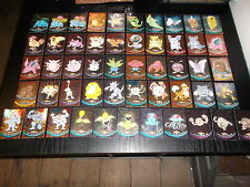 lot de 51 cartes pokemon tv animation serie 1 holo