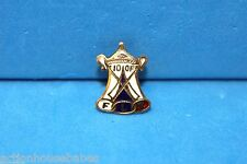 100 F -  F L T - Lapel PIN Badge - Fraternal Order of Odd Fellows - Vintage