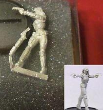 Bombshell BOM10038 Alteria the Enforcer (1) Miniature Female Space Hero Heroine