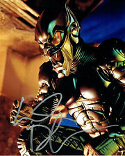 Willem William DAFOE SIGNED Autograph 10x8 Photo AFTAL Spiderman Green Goblin