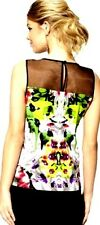 Prabal Gurung For Target Sleeveless Tee Top in First Date Print! RARE! M or XL