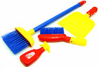 Childrens Cleaning Set Sweeping Brushing Play Set Include Broom & Dustpan Toy