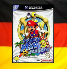 ## Super Mario Sunshine (Deutsch) Nintendo GameCube Spiel // GC & Wii - TOP ##
